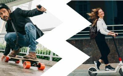 ¿Skate Eléctrico o Patinete Eléctrico?¿Cual es mejor?
