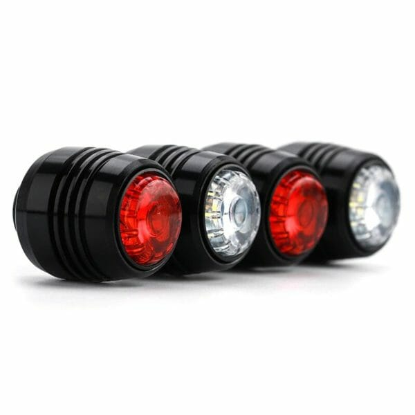 luces led freno para skate electrico