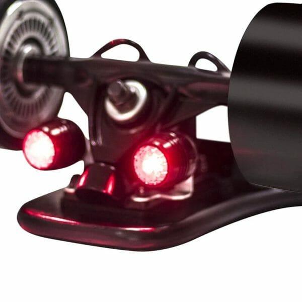 Luces delanteras y traseras skate electrico